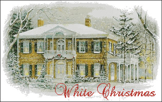 """White Christmas 2001"" Passione Ricame"